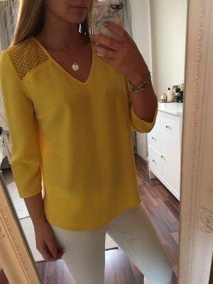 Bluse von Promod in Gelb