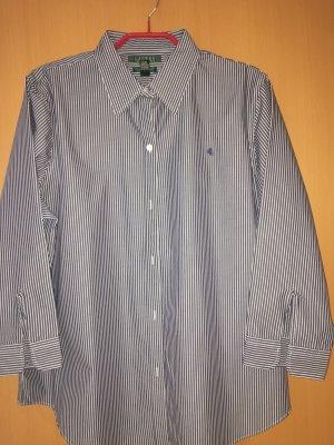 Bluse von Ralph Lauren in blau-weiß gestreift