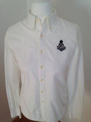 Bluse, von Ralph Lauren, in Weiß,in Gr. 38
