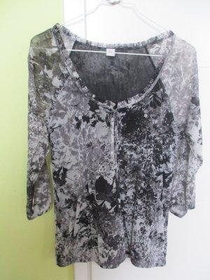 Bluse von S. Oliver, Gr 36, schwarz-weiß