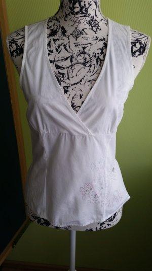 Bluse von S.Oliver mit Stickerei