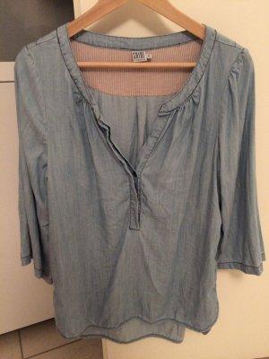 Bluse von Saint Tropez-blue denim, Größe M