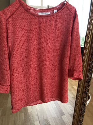 Scotch & Soda Oversized Blouse bright red-dark red