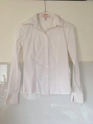 Bluse von She in weiß Größe 34