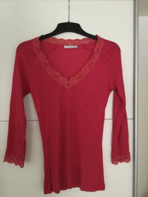 Blue Strenesse Bodysuit Blouse raspberry-red