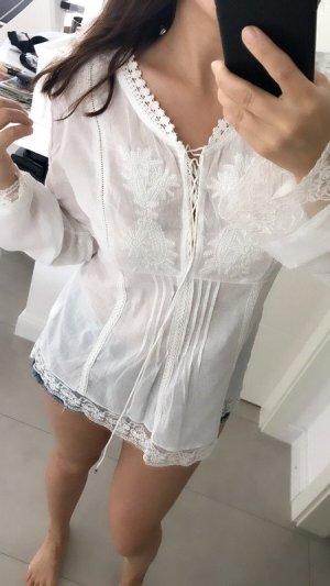 Tamaris Long Sleeve Blouse white