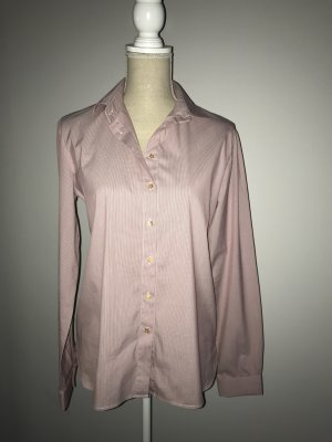 Tommy Hilfiger Long Sleeve Blouse natural white-purple cotton