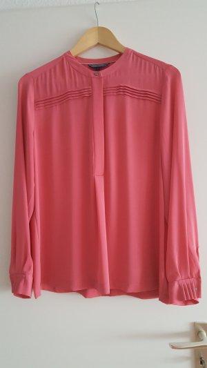 bluse von tommy hilfiger in rosa