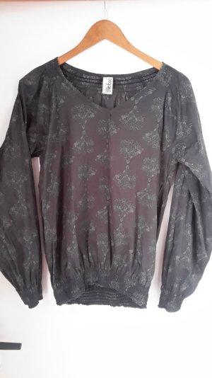 Bluse von Veranstaltungen Moda, Organisation Cotton, grau, Größe M