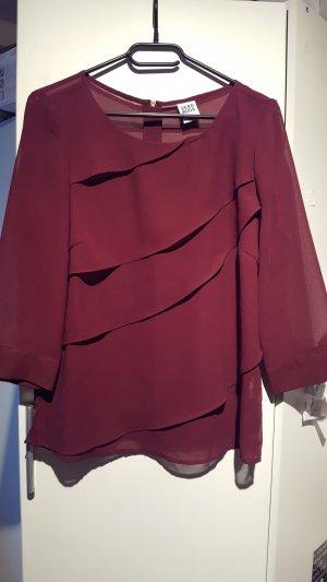 Vero Moda Oversized blouse paars