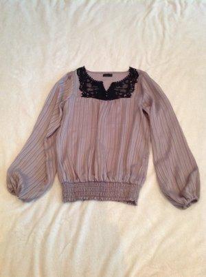 Bluse von Vero Moda in S mit spitze