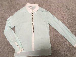 Bluse von VeroModa in mintgrün