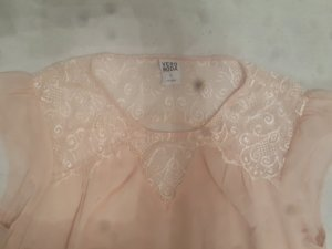 Bluse von Vila in rose'