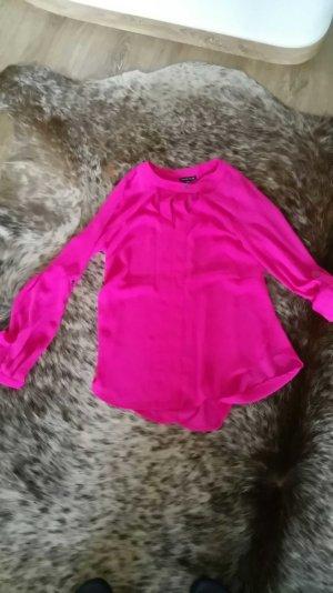 Bluse von Warehouse in knallfarbend