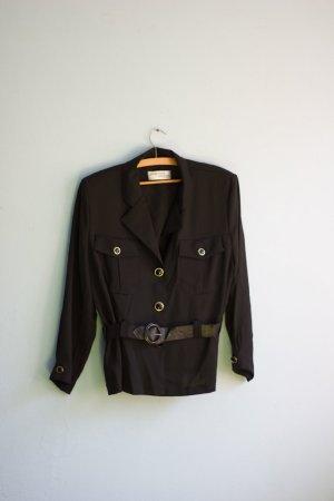 Blusa-camisa negro-color oro