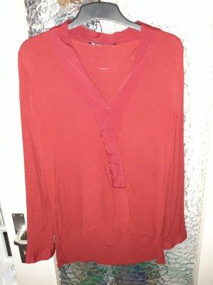 Zara Blouse rouge foncé