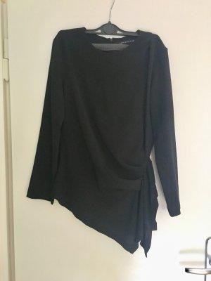 Bluse von Zara asymmetrisch schwarz Größe M toteme Herbst Hochzeit