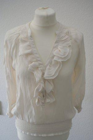 Bluse von Zara Gr. XS in creme