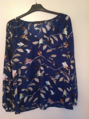 Bluse von Zara mit hübschem Muster in Größe M