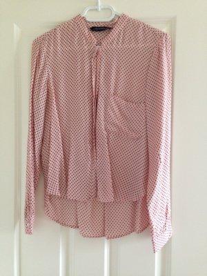 Bluse von Zara Rosa Sternchen