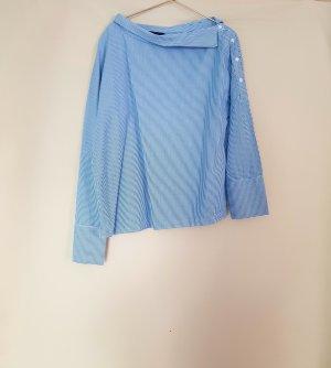 bluse von zara trf gr. M gestreift / offshoulder