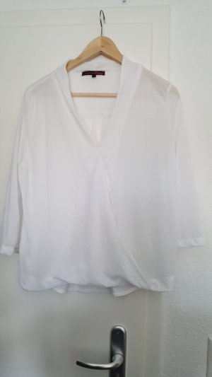 Tom Tailor Wraparound Shirt white