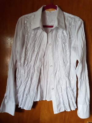 Biba Crash Blouse white