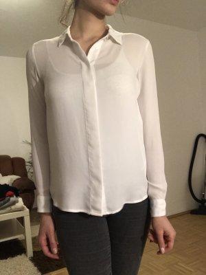 H&M Blouse à manches longues blanc
