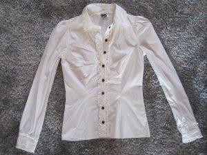 Bluse weiss H&M Gr. 36
