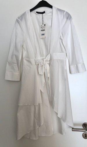 Bluse weiß lang  Gr.M Zara