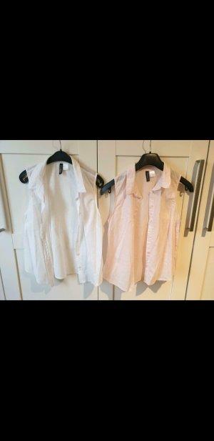 Bluse weiß oder rose