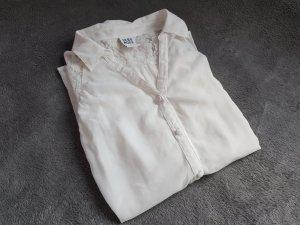 Bluse Weiß Spitze transparent Gr. M Vero Moda Neu