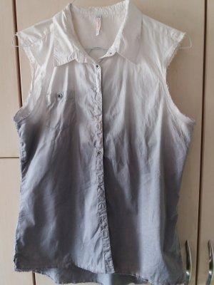 Bluse, Weste, Batik, Größe XL