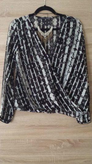 Bluse Wickeloptik trendy