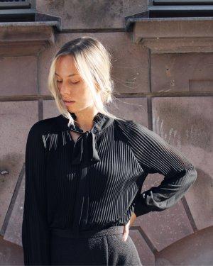 Bluse zabaione schwarz 36