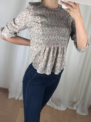 Zara Short Sleeved Blouse multicolored