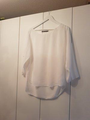 Bluse Zara Basic 38 weiß