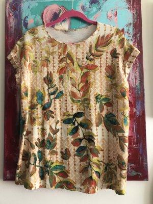 Bluse Zara Flowers Boho Hippiechic S