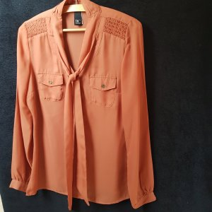 BC Long Sleeve Blouse dark orange polyester