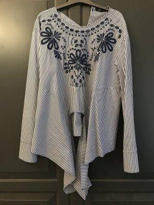 Bluse zum binden vorne , XL