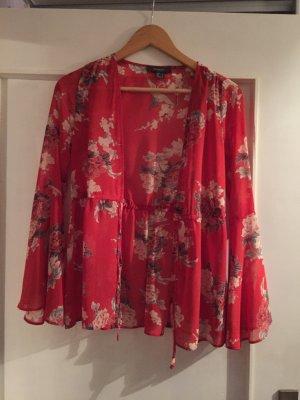 Primark Blusa tipo kimono rojo