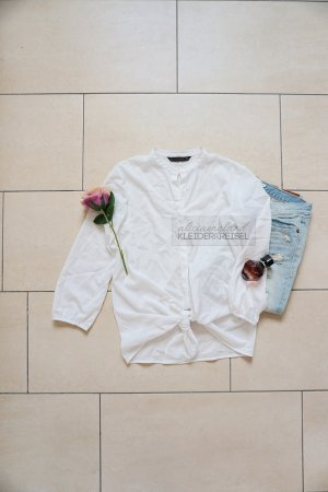 Zara Blusa blanco-blanco puro