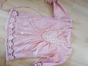 Esprit Tuniekblouse rosé-lichtblauw