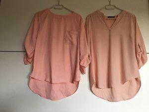 Carmen blouse lichtroze-roze