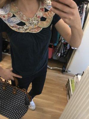 Zara Blouse à manches courtes multicolore