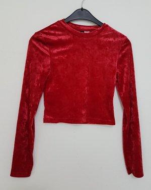 H&M Blusa ancha rojo