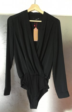 Tally Weijl Blusa tipo body negro