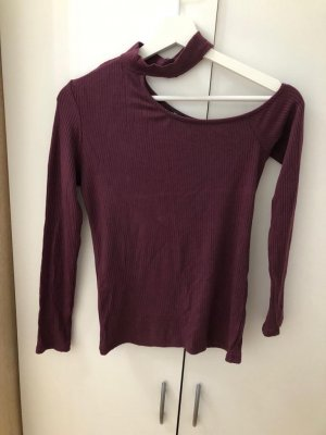 Bodysuit Blouse blackberry-red-purple