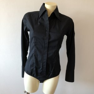 Cotton Club Blusa tipo body negro