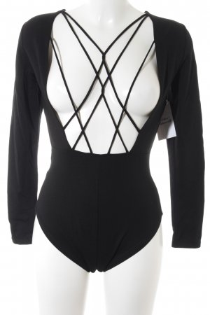 Bodysuit Blouse black street-fashion look